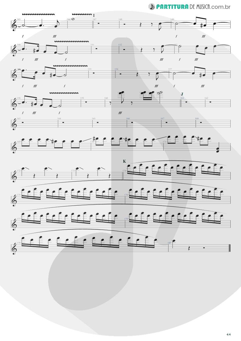 Partitura de musica de Guitarra Elétrica - Get The Hell Outta Of Here | Steve Vai | The Elusive Light and Sound Vol. 1 2002 - pag 4