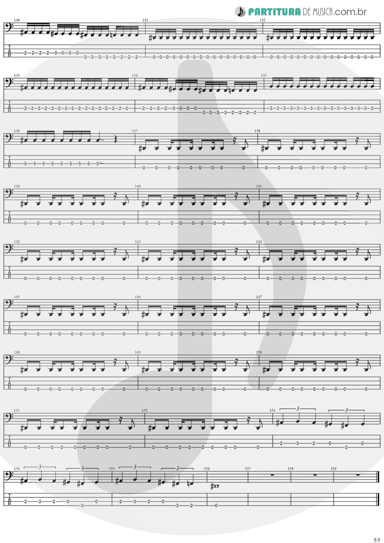 Tablatura + Partitura de musica de Baixo Elétrico - Future Shock | Stratovarius | Fright Night 1989 - pag 5