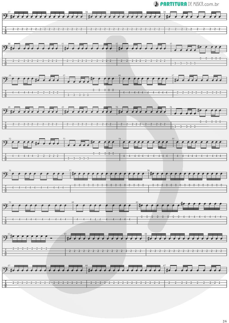 Tablatura + Partitura de musica de Baixo Elétrico - The Hands Of Time   Stratovarius   Twilight Time 1992 - pag 2