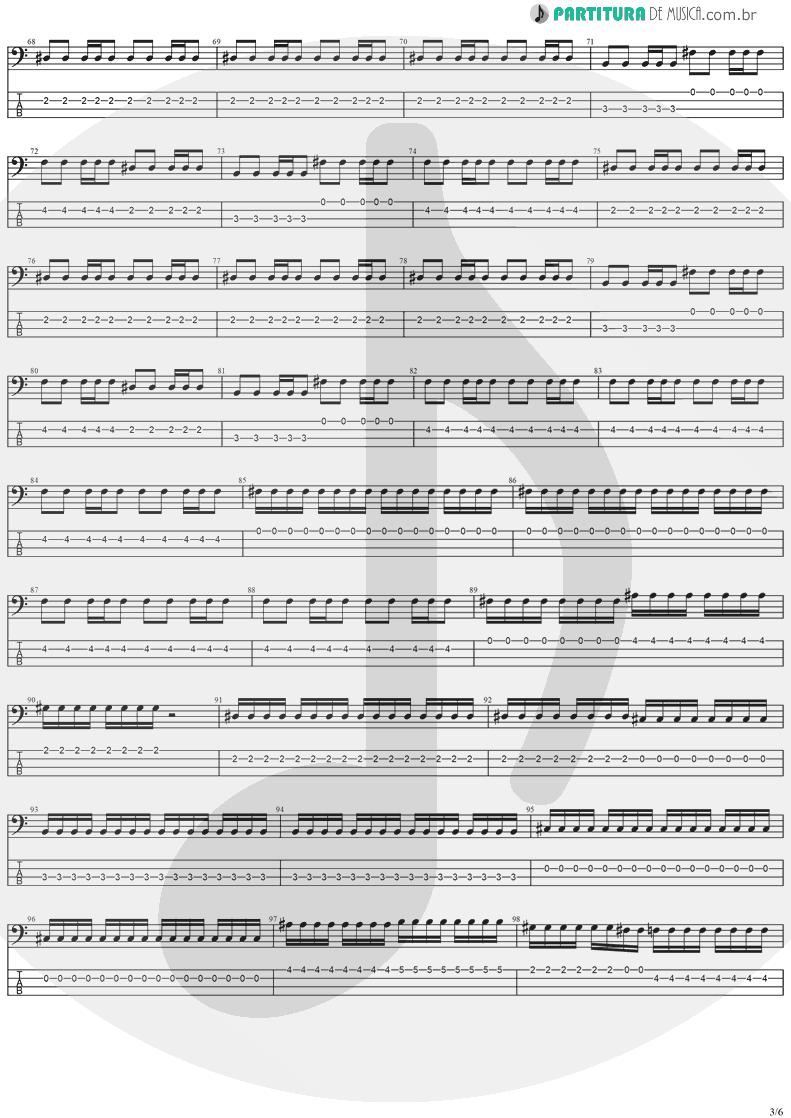Tablatura + Partitura de musica de Baixo Elétrico - The Hands Of Time   Stratovarius   Twilight Time 1992 - pag 3