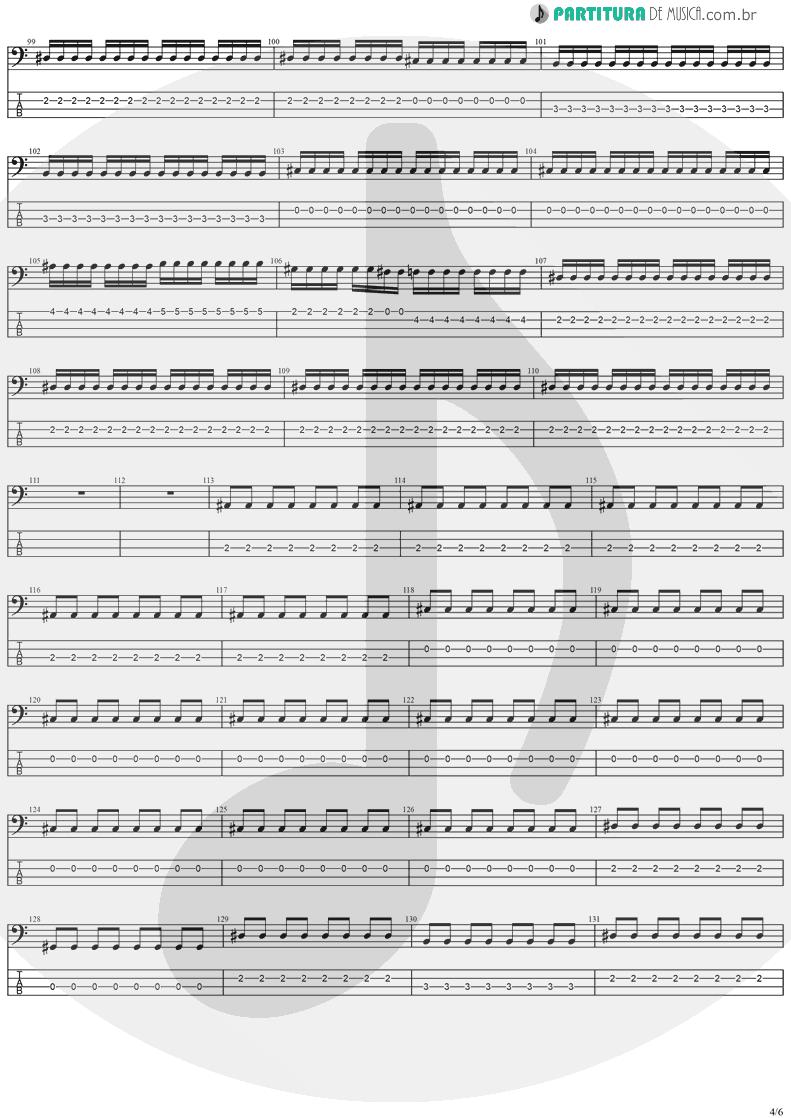 Tablatura + Partitura de musica de Baixo Elétrico - The Hands Of Time   Stratovarius   Twilight Time 1992 - pag 4