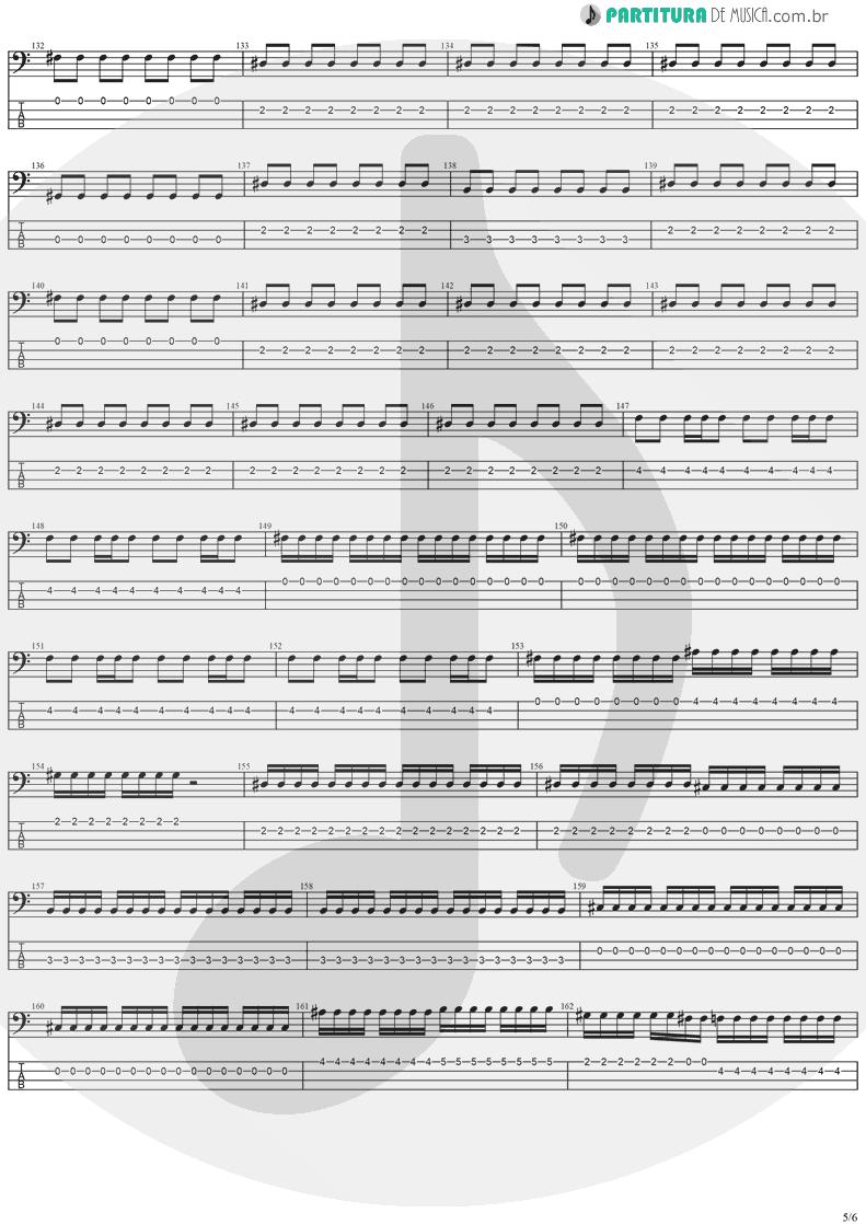 Tablatura + Partitura de musica de Baixo Elétrico - The Hands Of Time   Stratovarius   Twilight Time 1992 - pag 5