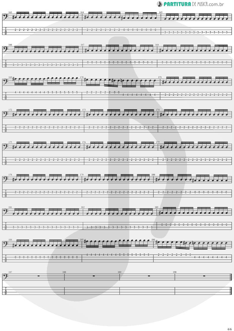 Tablatura + Partitura de musica de Baixo Elétrico - The Hands Of Time   Stratovarius   Twilight Time 1992 - pag 6