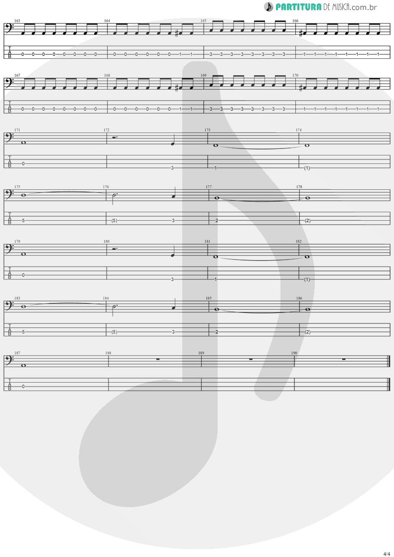 Tablatura + Partitura de musica de Baixo Elétrico - Dreamspace | Stratovarius | Dreamspace 1994 - pag 4