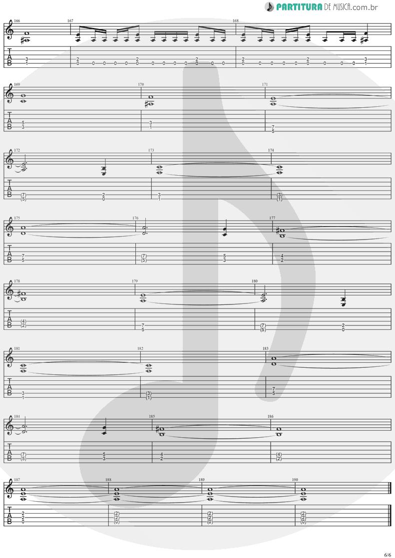 Tablatura + Partitura de musica de Guitarra Elétrica - Dreamspace | Stratovarius | Dreamspace 1994 - pag 6