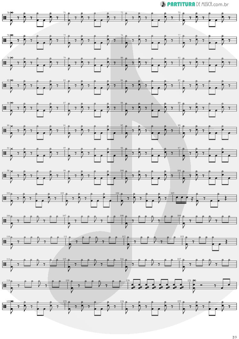 Partitura de musica de Bateria - Hold On To Your Dream | Stratovarius | Dreamspace 1994 - pag 2