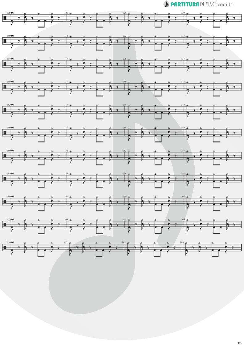 Partitura de musica de Bateria - Hold On To Your Dream | Stratovarius | Dreamspace 1994 - pag 3