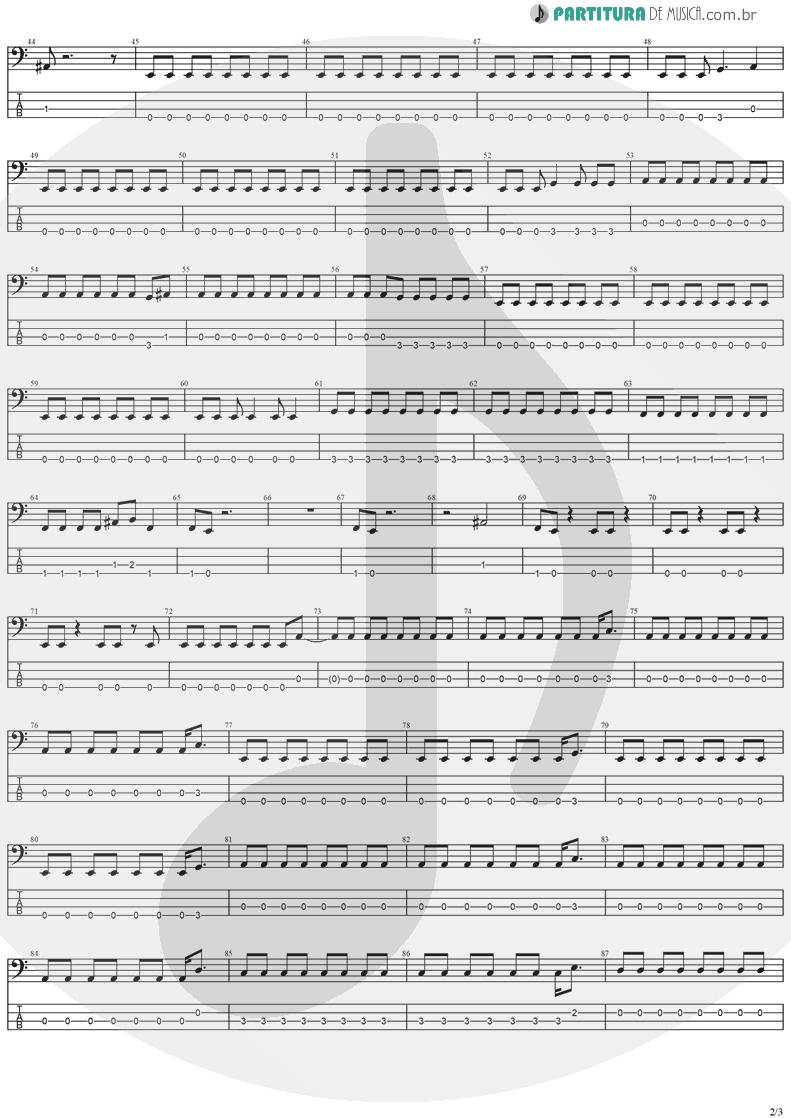 Tablatura + Partitura de musica de Baixo Elétrico - Reign Of Terror | Stratovarius | Dreamspace 1994 - pag 2