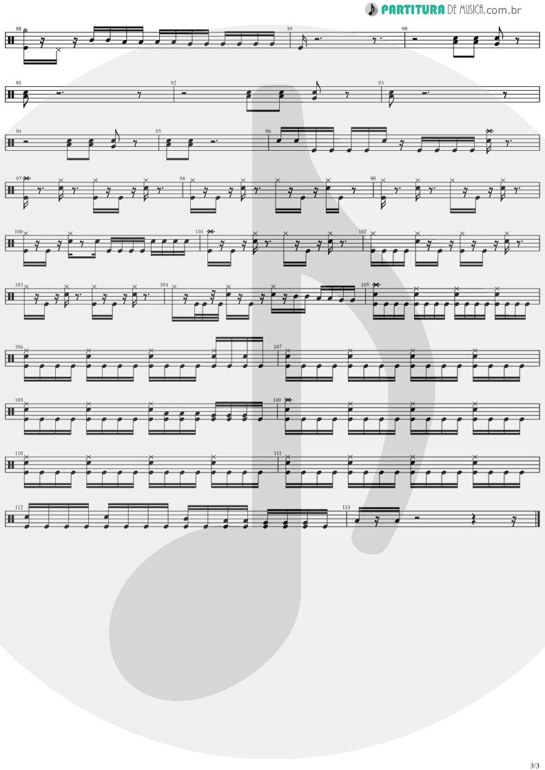 Partitura de musica de Bateria - Reign Of Terror | Stratovarius | Dreamspace 1994 - pag 3