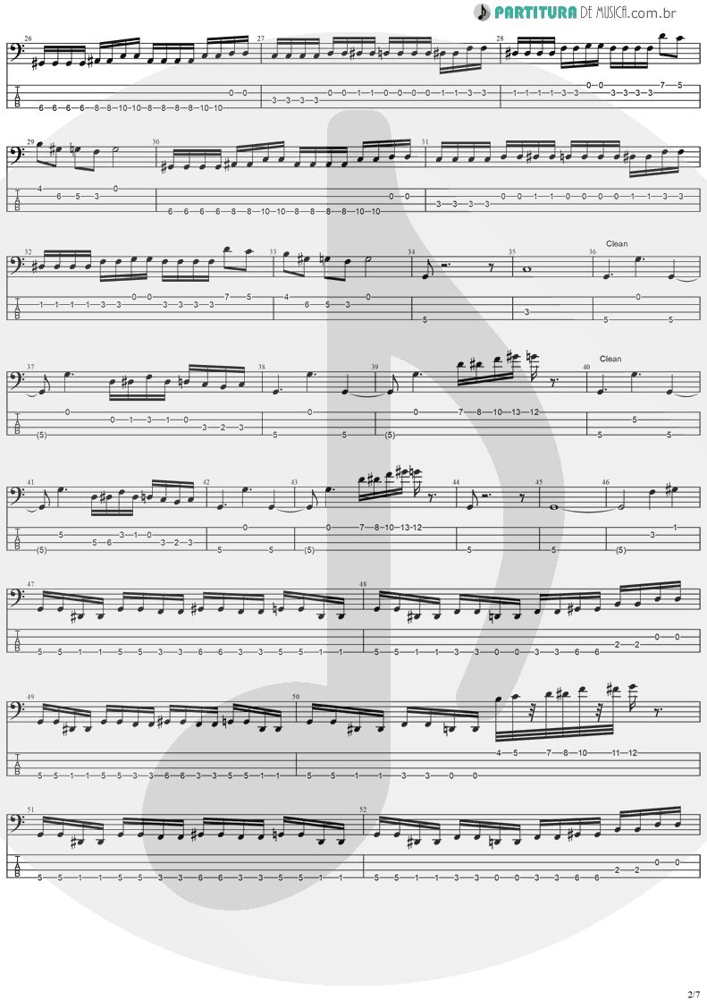 Tablatura + Partitura de musica de Baixo Elétrico - Stratovarius | Stratovarius | Fourth Dimension 1995 - pag 2