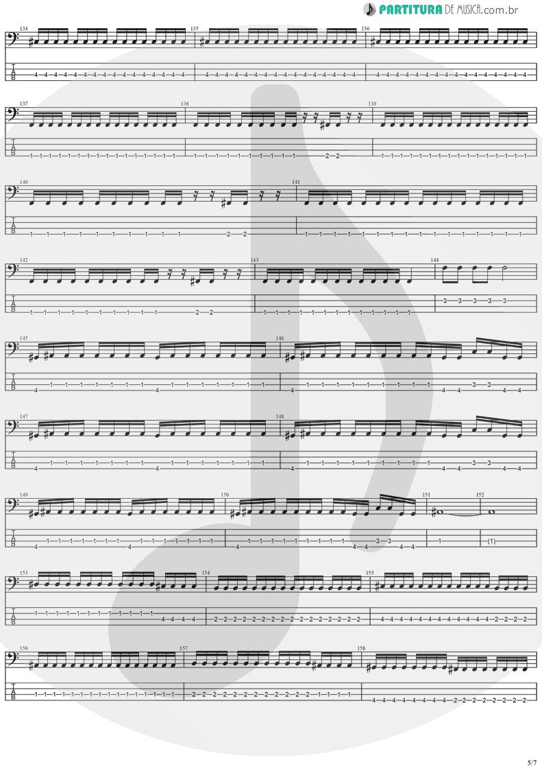Tablatura + Partitura de musica de Baixo Elétrico - Forever Free   Stratovarius   Visions 1997 - pag 5