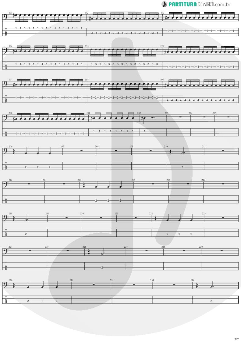 Tablatura + Partitura de musica de Baixo Elétrico - Forever Free   Stratovarius   Visions 1997 - pag 7