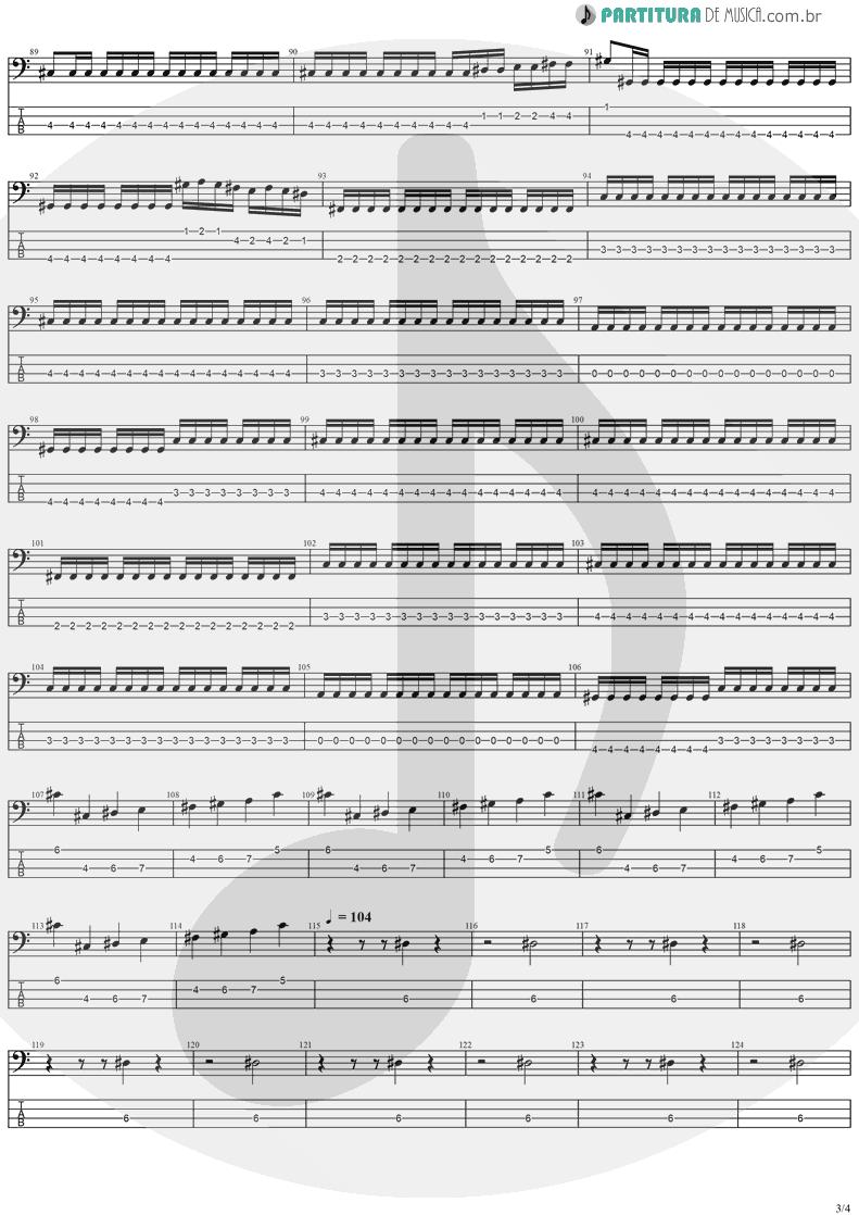 Tablatura + Partitura de musica de Baixo Elétrico - Holy Light   Stratovarius   Visions 1997 - pag 3
