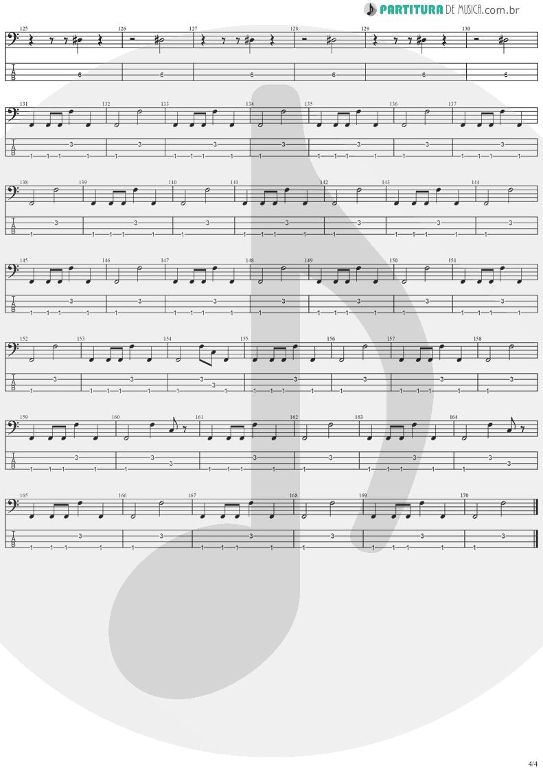 Tablatura + Partitura de musica de Baixo Elétrico - Holy Light   Stratovarius   Visions 1997 - pag 4