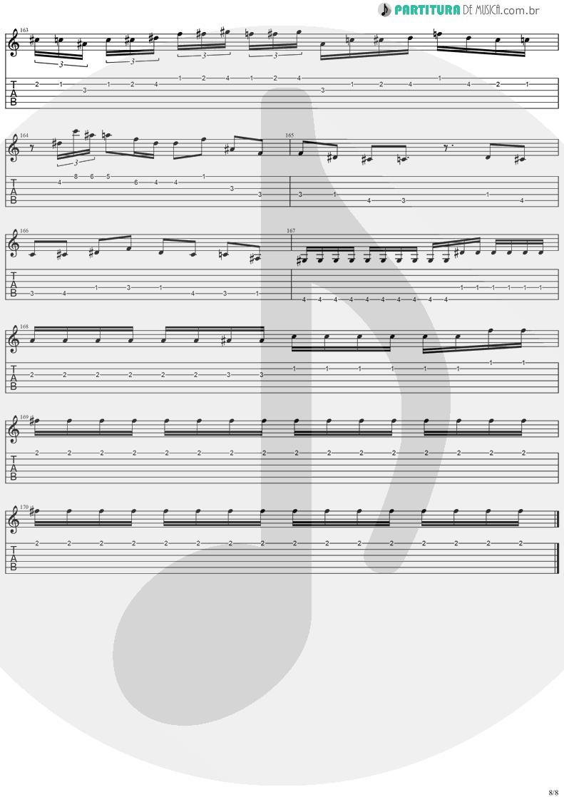 Tablatura + Partitura de musica de Guitarra Elétrica - Holy Light | Stratovarius | Visions 1997 - pag 8