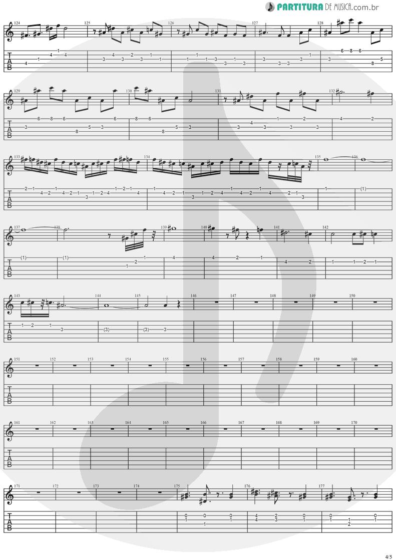 Tablatura + Partitura de musica de Guitarra Elétrica - Paradise | Stratovarius | Visions 1997 - pag 4