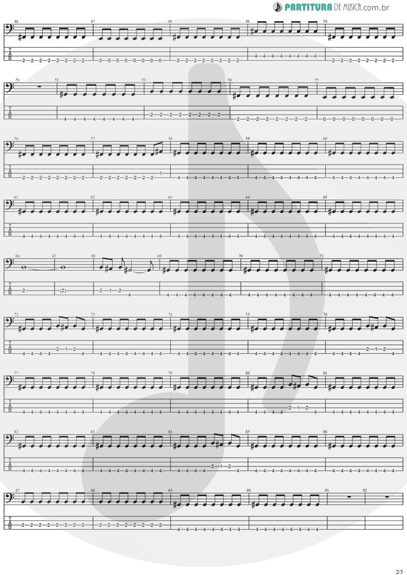 Tablatura + Partitura de musica de Baixo Elétrico - Cold Winter Nights | Stratovarius | Destiny 1998 - pag 2
