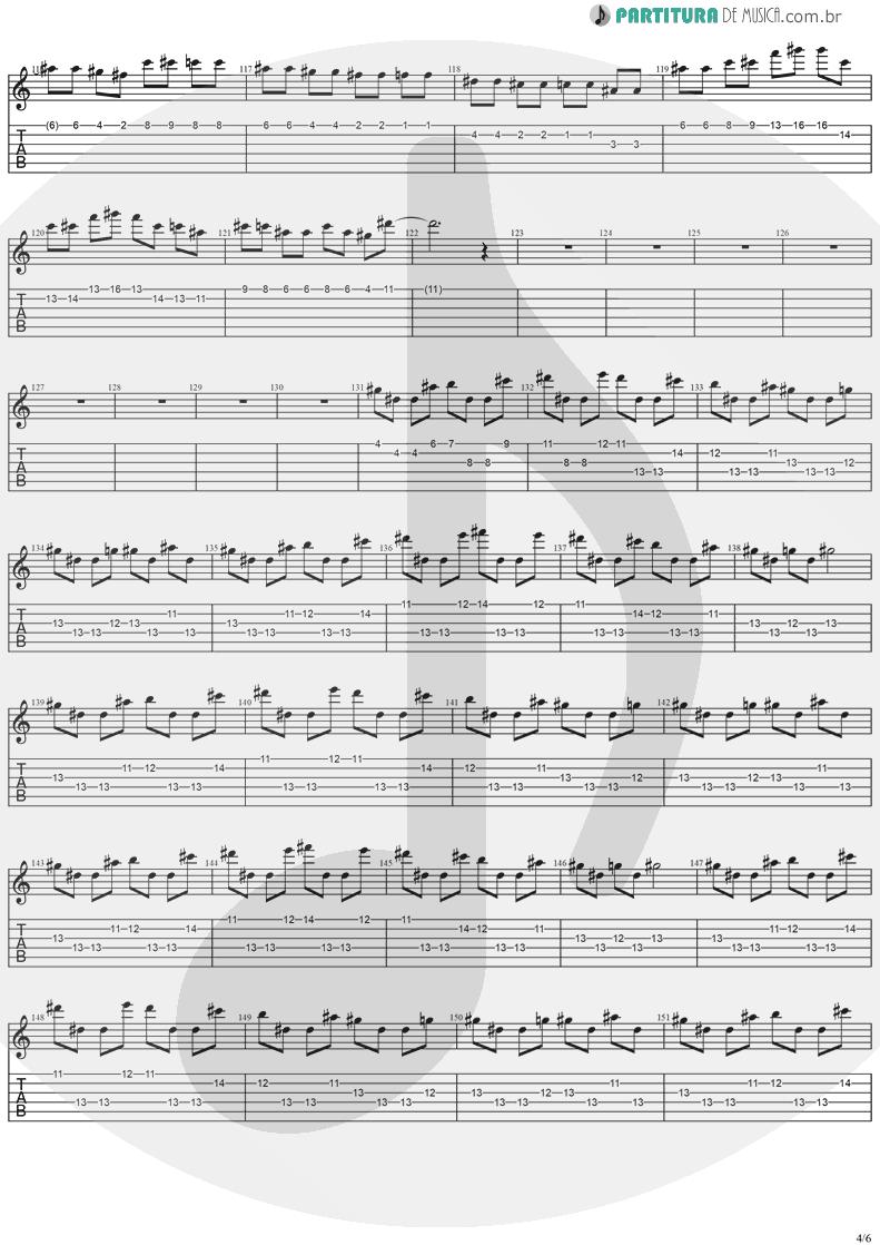Tablatura + Partitura de musica de Guitarra Elétrica - Cold Winter Nights | Stratovarius | Destiny 1998 - pag 4