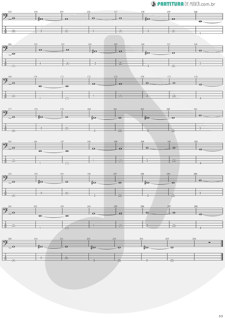 Tablatura + Partitura de musica de Baixo Elétrico - Twilight Symphony   Stratovarius   Live Visions Of Europe 2001 - pag 5