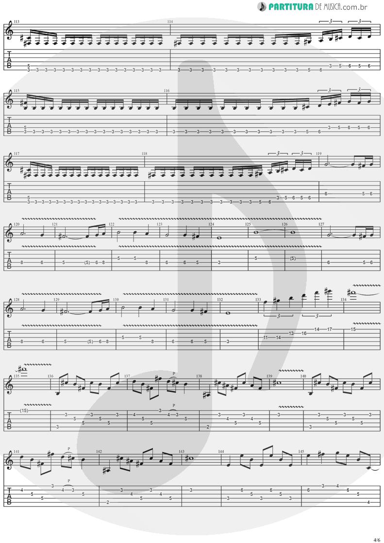 Tablatura + Partitura de musica de Guitarra Elétrica - Twilight Symphony | Stratovarius | Live Visions Of Europe 2001 - pag 4