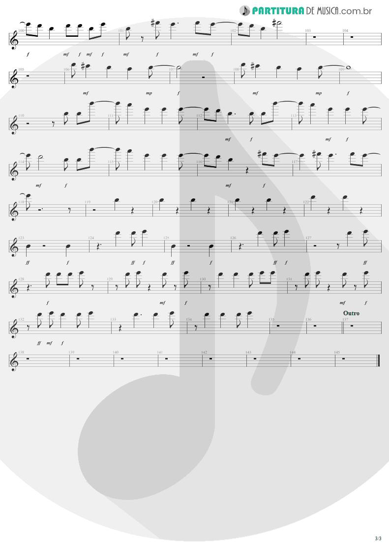 Partitura de musica de Canto - Discotheque | U2 | Pop 1997 - pag 3