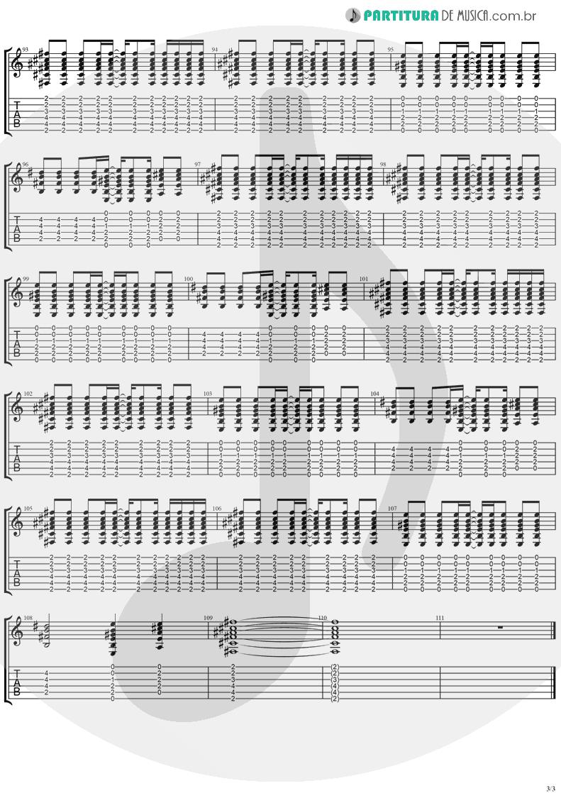 Tablatura + Partitura de musica de Violão - Don't Go | Ugly Kid Joe | America's Least Wanted 1992 - pag 3