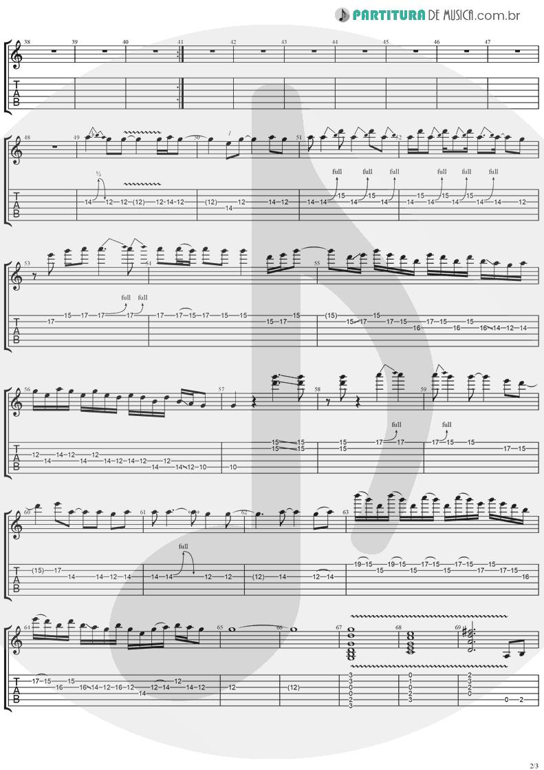 Tablatura + Partitura de musica de Violão - Mr. Recordman   Ugly Kid Joe   America's Least Wanted 1992 - pag 2