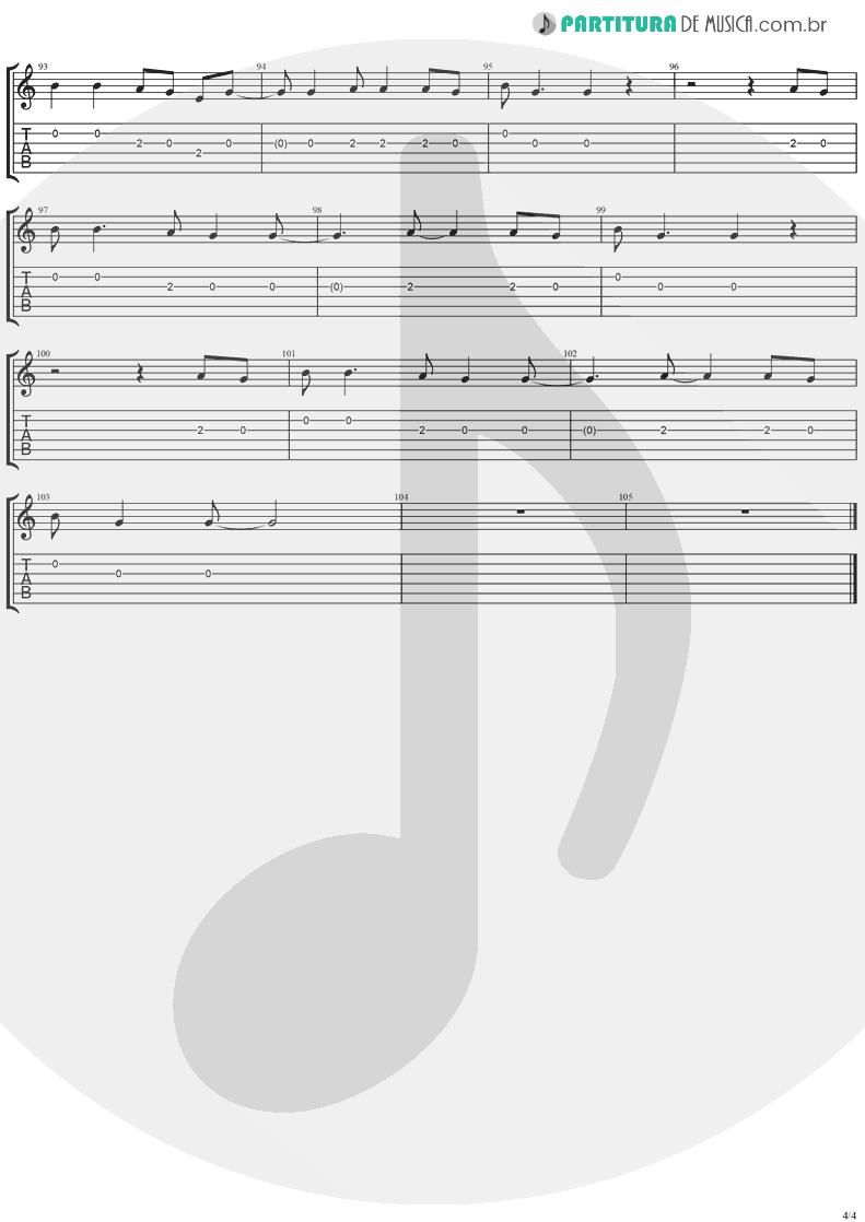 Tablatura + Partitura de musica de Violão - Mr. Recordman | Ugly Kid Joe | America's Least Wanted 1992 - pag 4