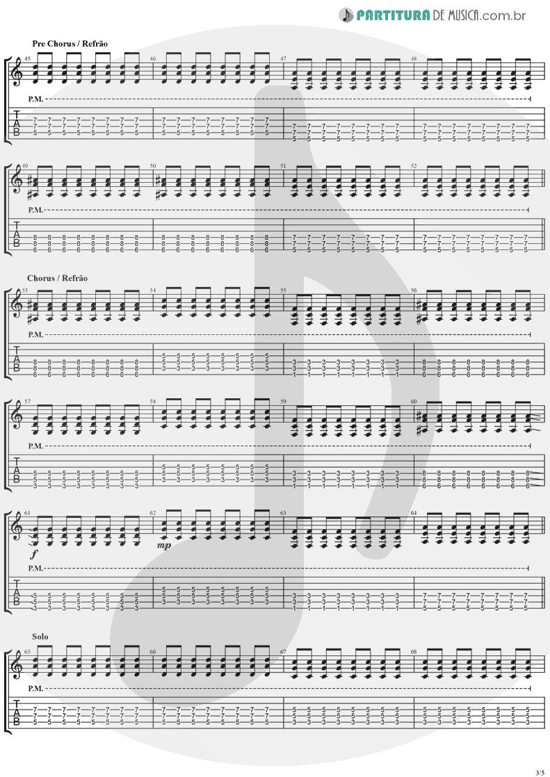 Tablatura + Partitura de musica de Guitarra Elétrica - This Is Such A Pity   Weezer   Make Believe 2005 - pag 3