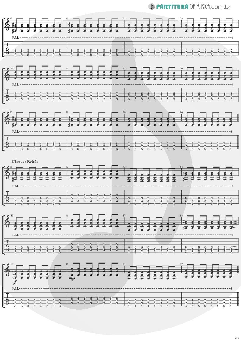 Tablatura + Partitura de musica de Guitarra Elétrica - This Is Such A Pity   Weezer   Make Believe 2005 - pag 4