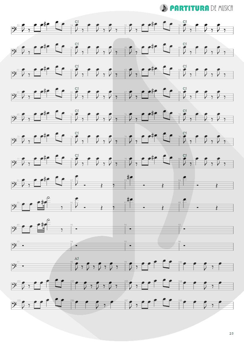 Partitura de musica de Baixo Elétrico - La Grange | ZZ Top | Tres Hombres 1973 - pag 2