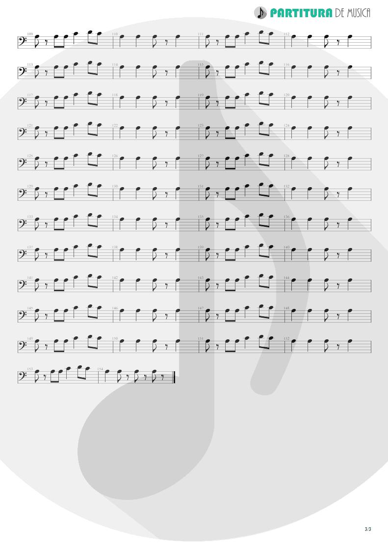 Partitura de musica de Baixo Elétrico - La Grange | ZZ Top | Tres Hombres 1973 - pag 3