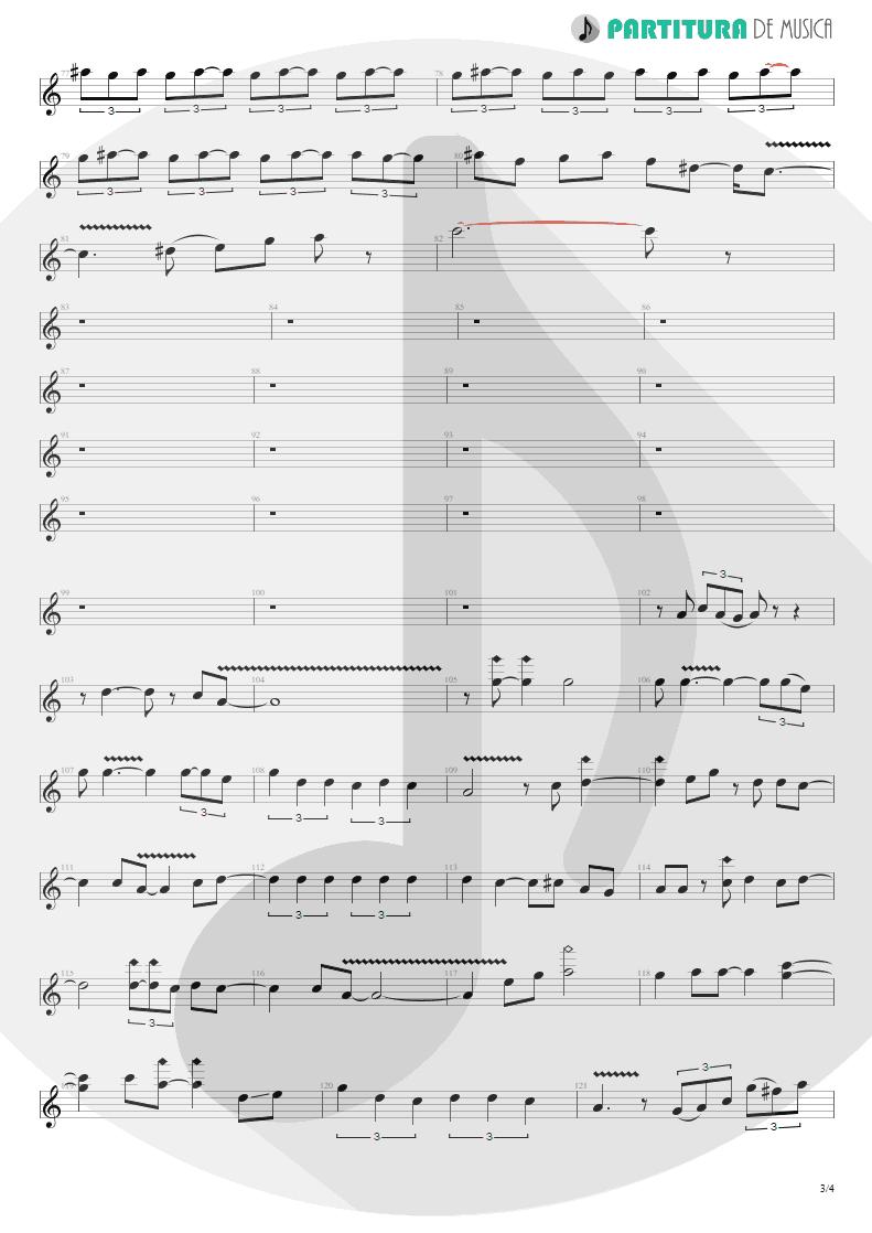 Partitura de musica de Guitarra Elétrica - La Grange   ZZ Top   Tres Hombres 1973 - pag 3