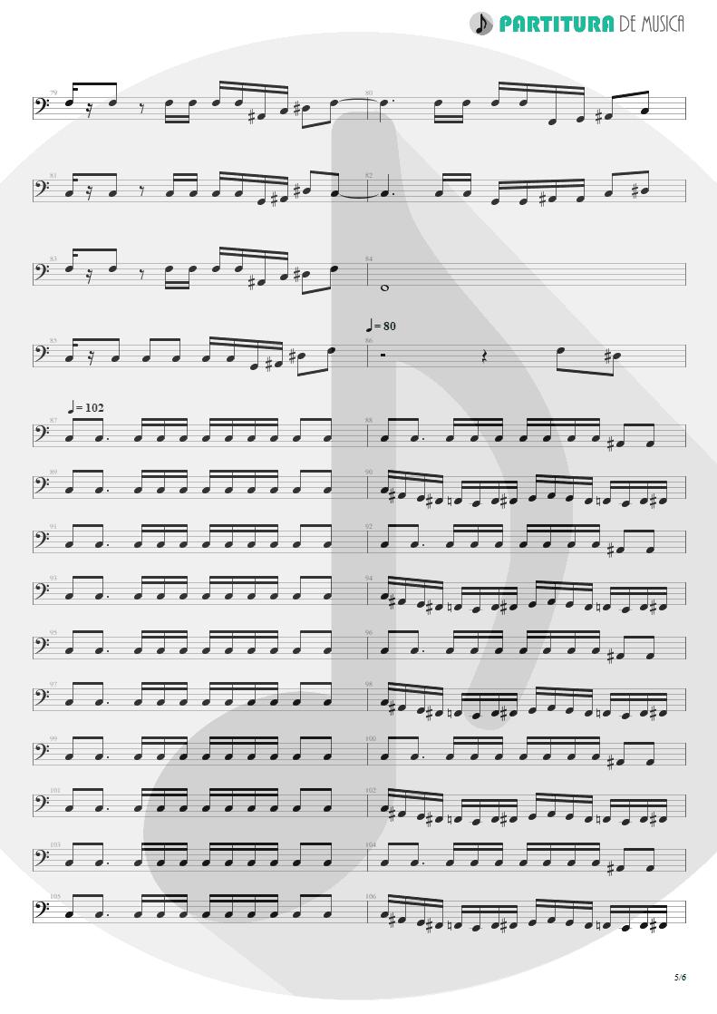 Partitura de musica de Baixo Elétrico - I'm Bad, I'm Nationwide | ZZ Top | Degüello 1979 - pag 5
