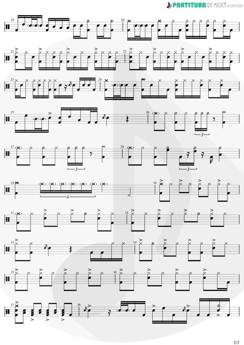 Partitura de musica de Bateria - Não é Insônia   Zé Neto E Cristiano   Por Mais Beijos (Ao Vivo) 2020 - pag 2