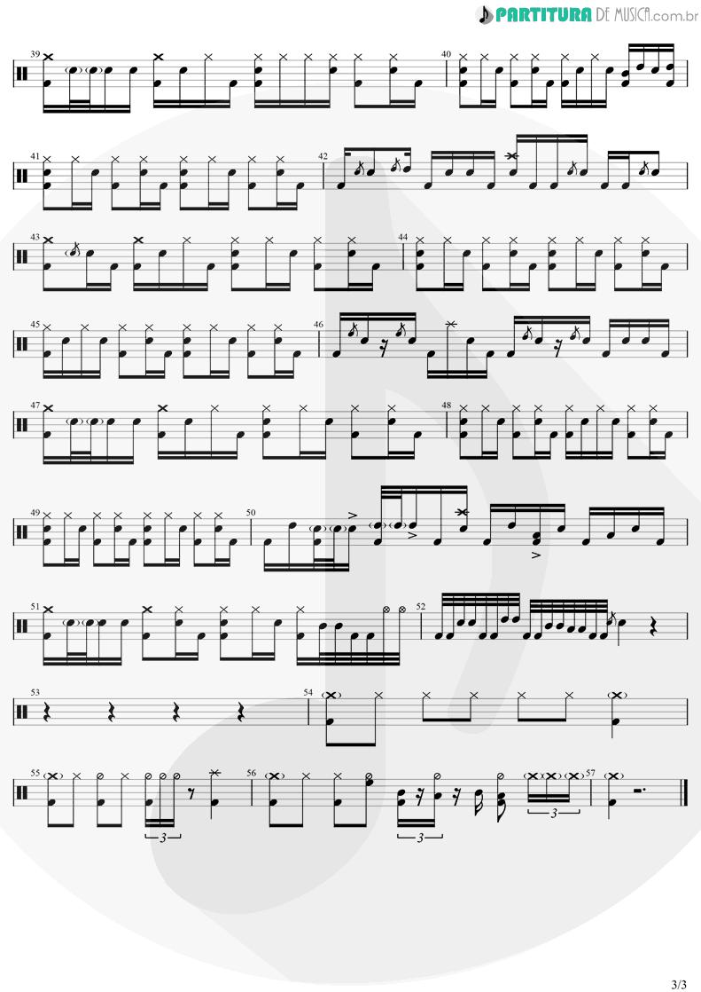 Partitura de musica de Bateria - Não é Insônia   Zé Neto E Cristiano   Por Mais Beijos (Ao Vivo) 2020 - pag 3